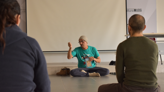 Sesión de meditación
