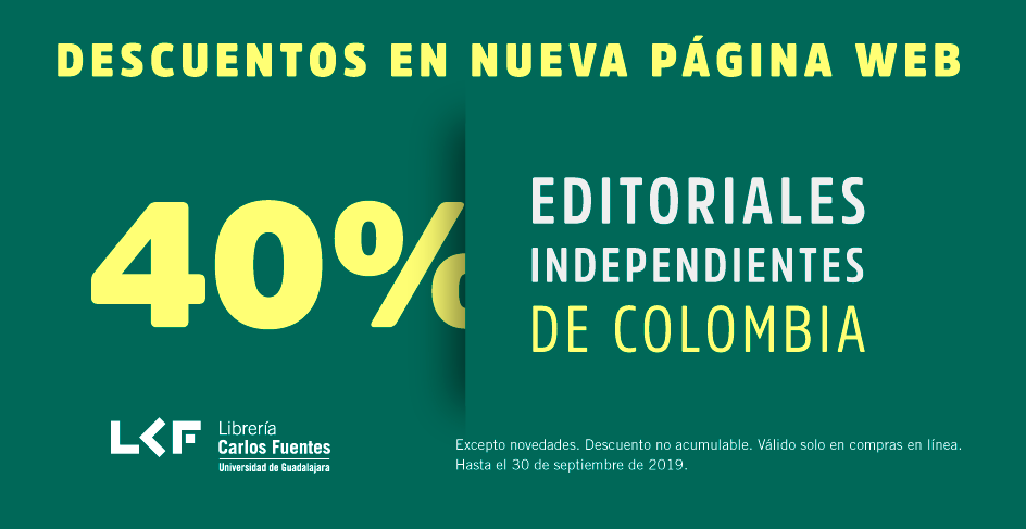 40% Editoriales independientes colombianas